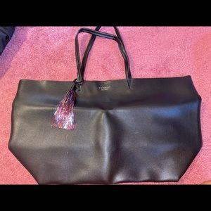 Victoria's Secret leather tote